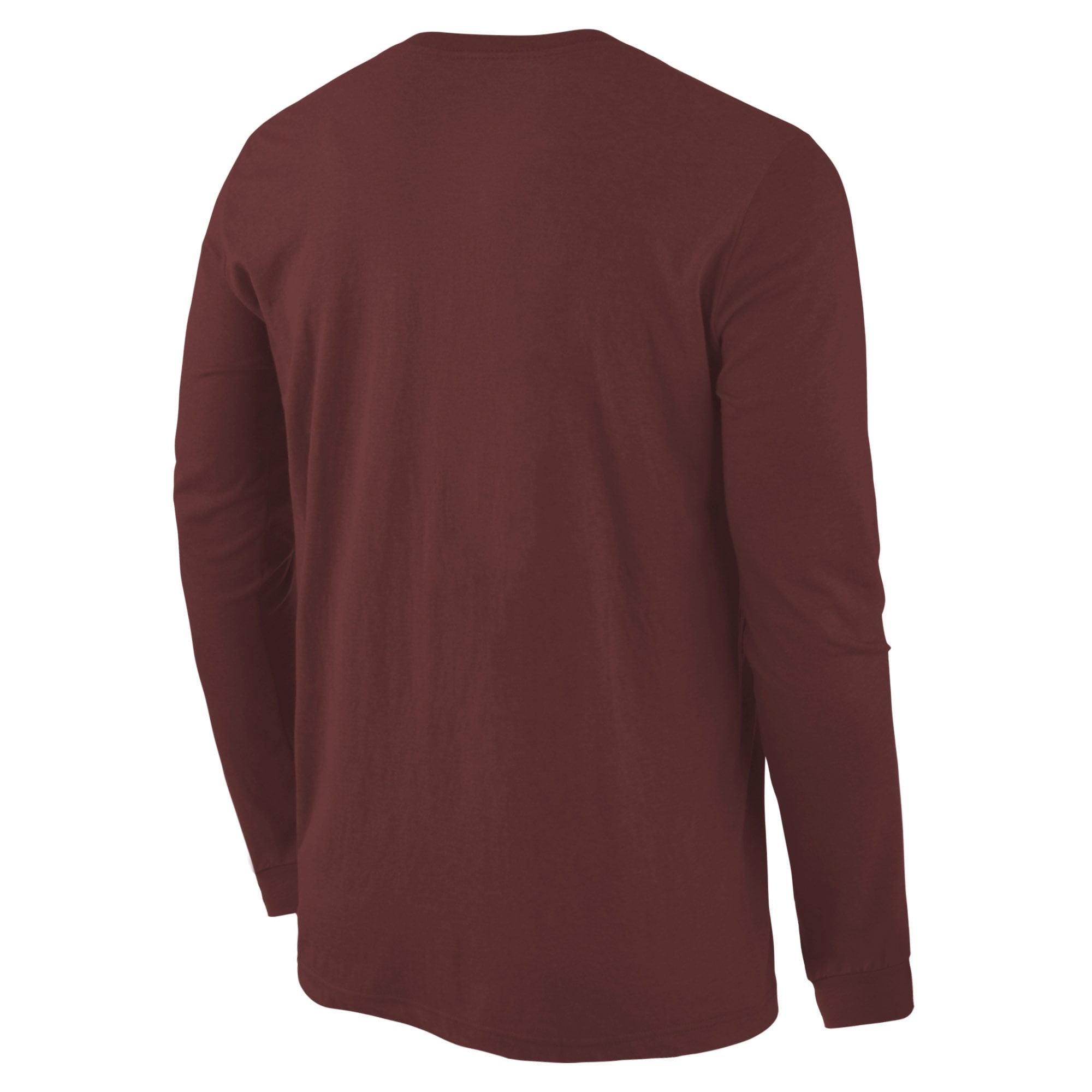 759e04bb07a Boston College Eagles Fanatics Branded Distressed Arch Over Logo Long  Sleeve Hit T-Shirt - Maroon - Walmart.com