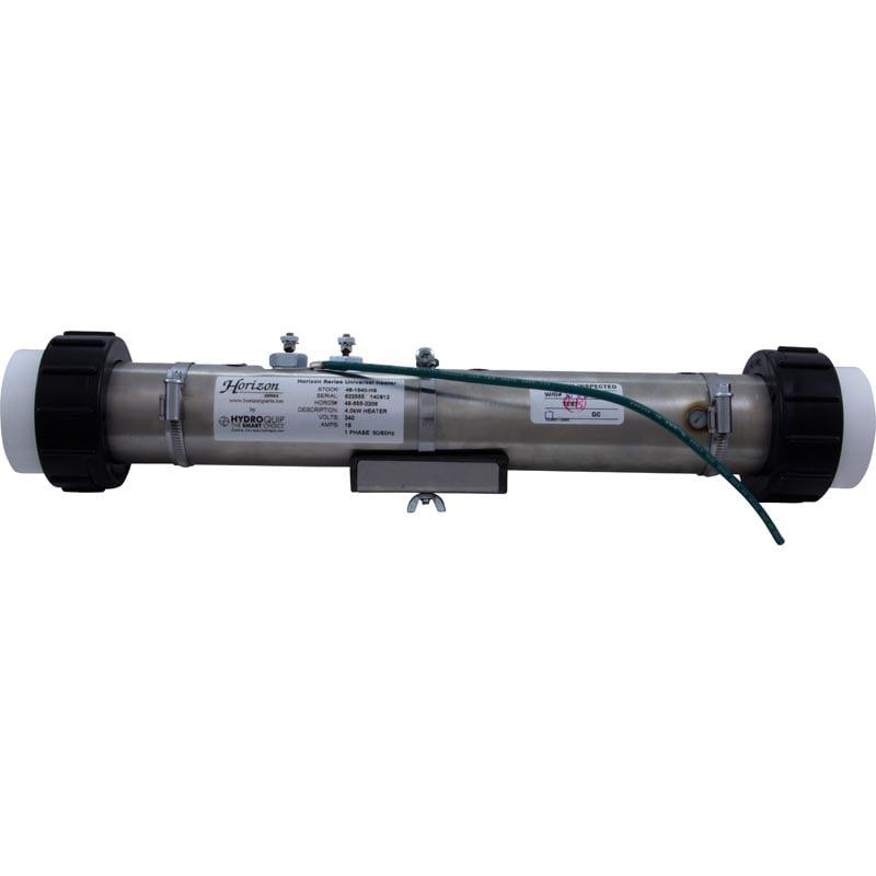 "Hydro Quip Heater, FloThru, Universal, 15"" x 2"", 230v, 4...."