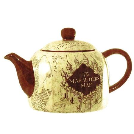 Harry Potter Marauder's Map Ceramic Teapot