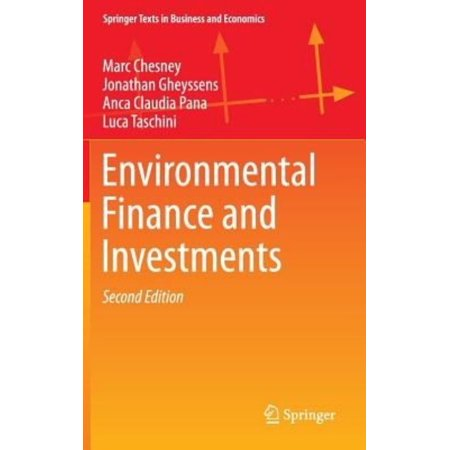 Environmental Finance and Investments (Springer Texts in Business and Economics) - image 1 of 1