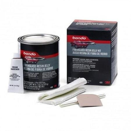3M Bondo 431 Fiberglass Resin Jelly Kit - Pint Can