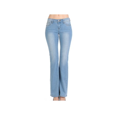 Classic 5 Pockets Premium Denim, Bootleg Bootcut Jeans
