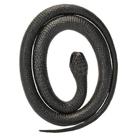 Wild Snake (Black Mamba Rubber Snake 46 inch - Play Animal by Wild Republic)
