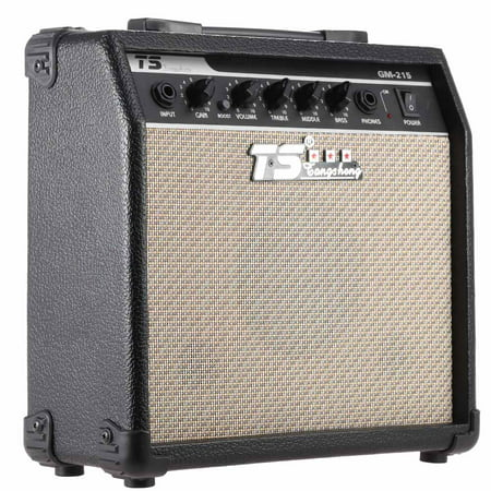 GM-215 Professional 15W Electric Guitar Amplifier Amp Distortion with 3-Band EQ 5