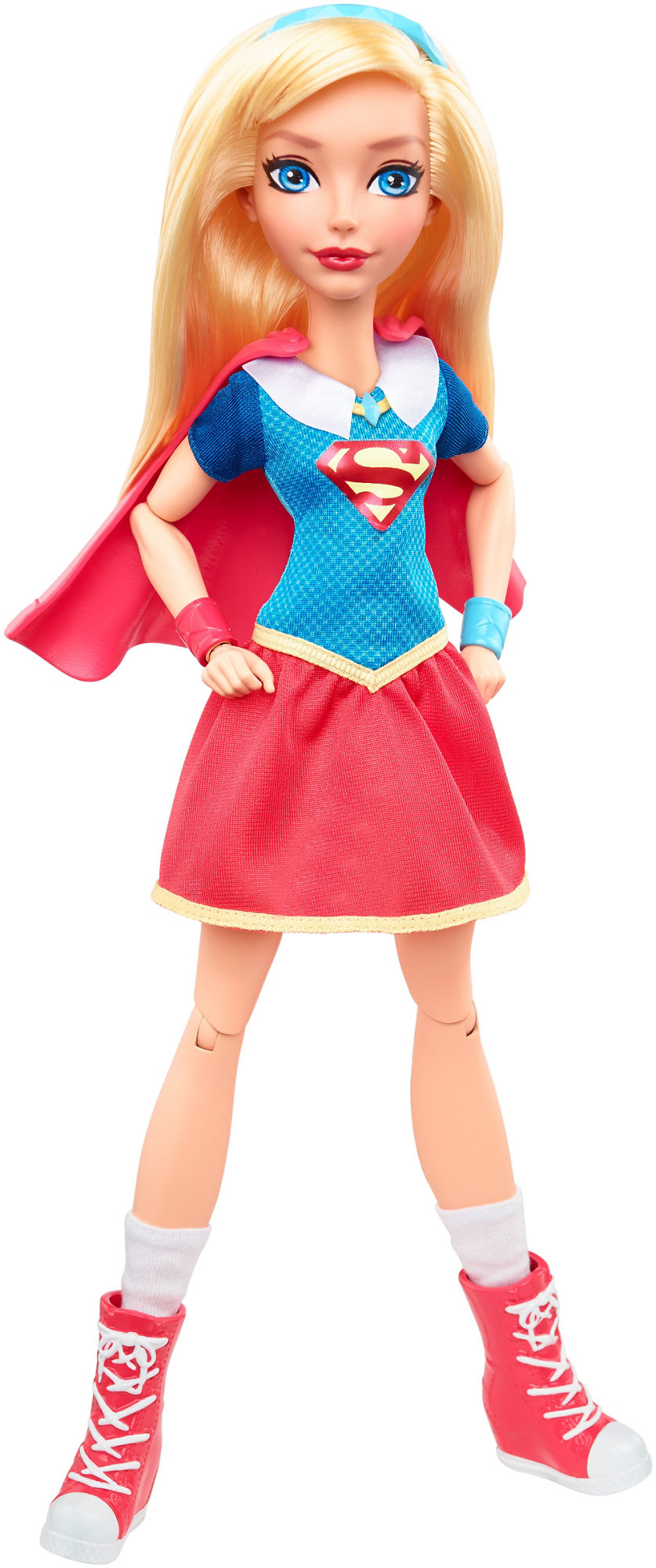 "DC Super Hero Girls Supergirl 12"" Action Doll by Mattel"