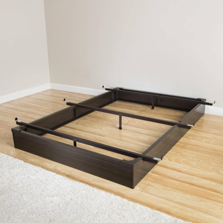 Mantua Mfg. Co. Mantua Java Brown Full-Size Metal Bed Base
