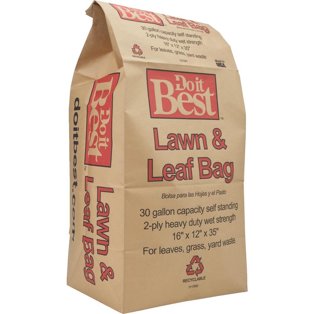 Duro Paper Bag Mfg. 15 Pack Yard Waste Bag 59975