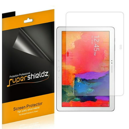 [3-Pack] Supershieldz for Samsung Galaxy Note Pro 12.2 & Tab Pro 12.2 Screen Protector, Anti-Bubble High Definition (HD) Clear