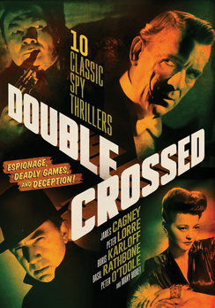 Double Crossed: 10 Classic Spy Thrillers (DVD) by Mill Creek Entertainment
