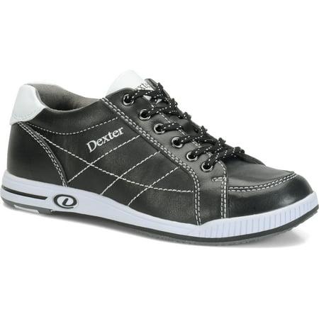 Black Right Hand Bowling Shoe (Dexter Womens Deanna Plus Bowling Shoes RIGHT HAND- Black/White 6 M US)