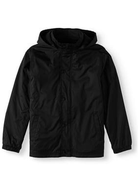 Wonder Nation Boys School Uniform Removable Hood Jacket (Little Boys & Big Boys)