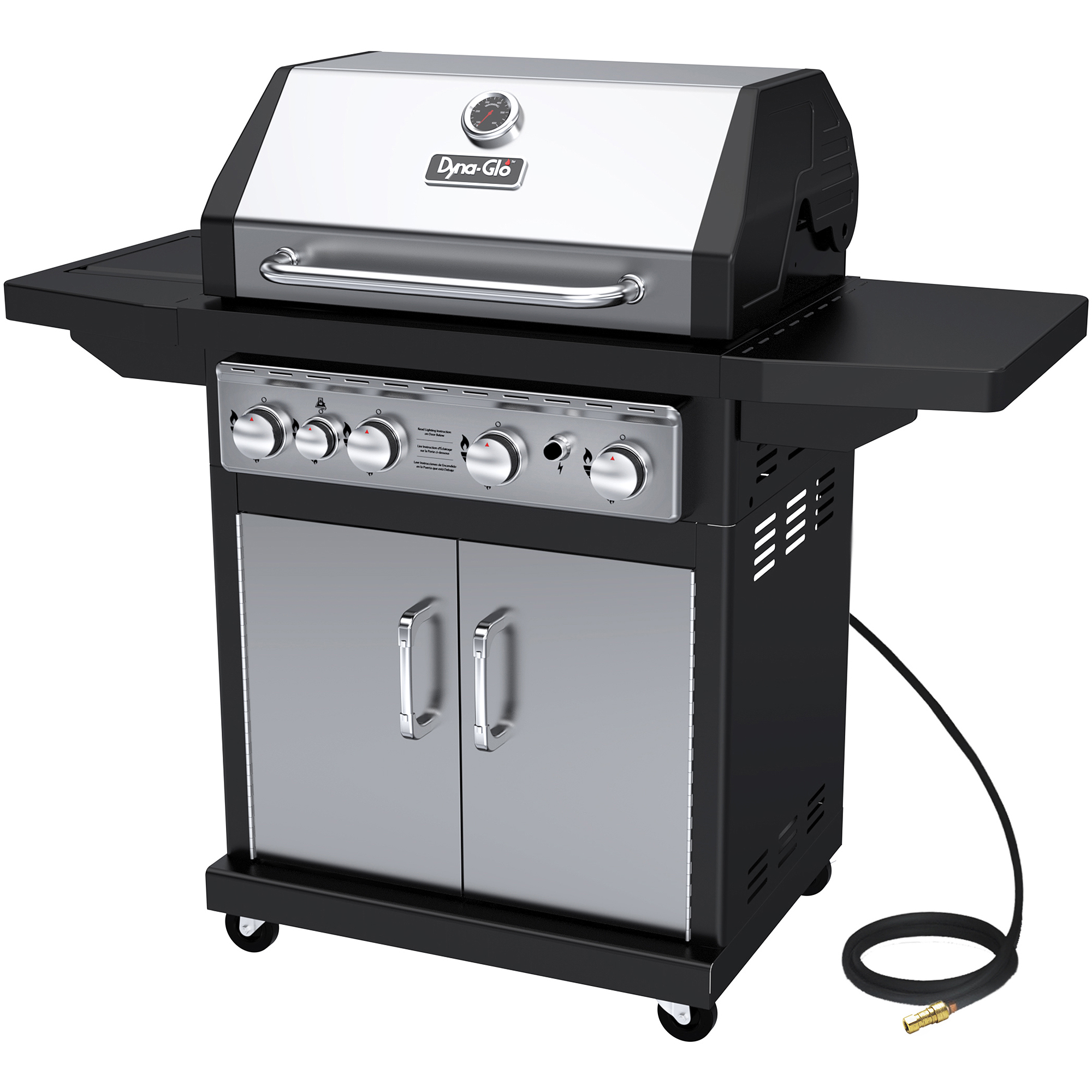 Dyna-Glo DGA480SSN-D 4-Burner Stainless Natural Gas Grill