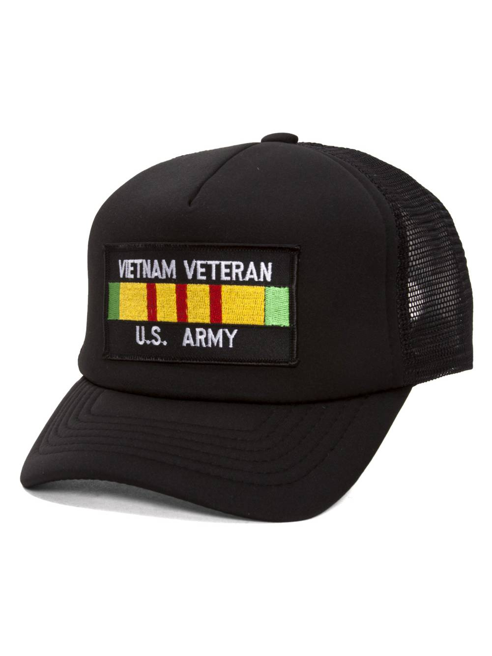 Military Patch Adjustable Trucker Hats - Vietnam Veteran - US Army -  Walmart.com 1ac203eb670
