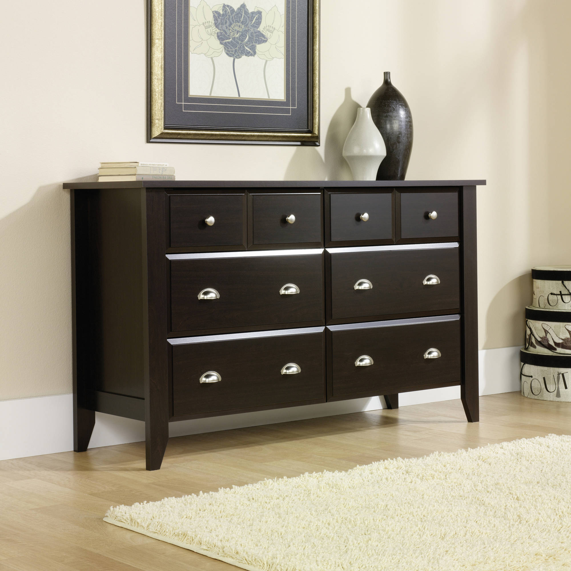 Sauder Shoal Creek Collection Dresser, Multiple Finishes