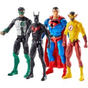 DC Multiverse Lobo Series Batman, Kyle Rayner, Kid Flash & Superman Set of 4 Action Figures