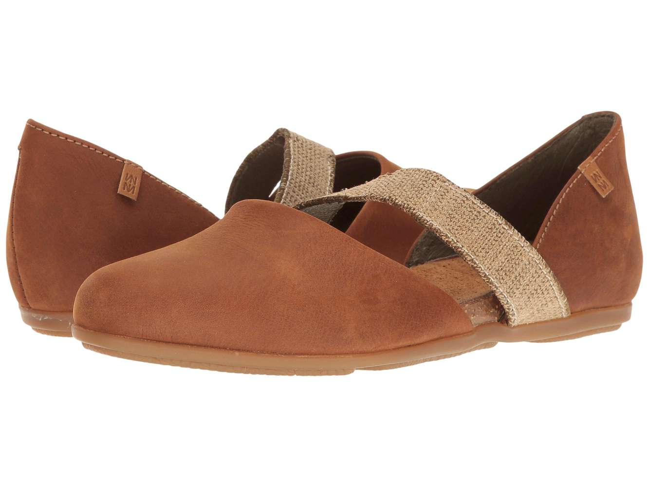 El Naturalista Closed Womens Stella Closed Naturalista Toe Ballet Flats 7b34a8