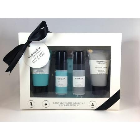 Nostalgia Mens Fragrance Toiletry 5pc Gift Set