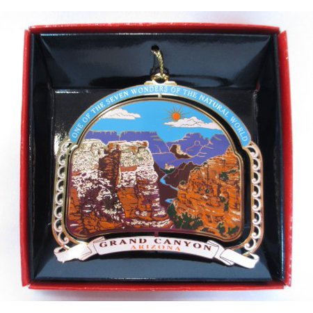 - Grand Canyon Ornament Christmas Color Brass Souvenir Gift