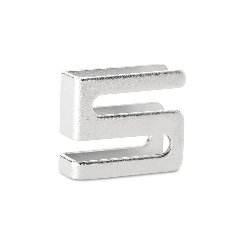 Alera Wire Shelving S Hooks, Metal, Silver, 4 Hooks/Pack