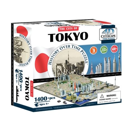 4D Cityscape Tokyo Time Puzzle - image 2 of 3