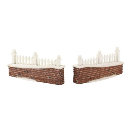 department 56 decorative accessories for villages picket lane wall general, 0.98 inch