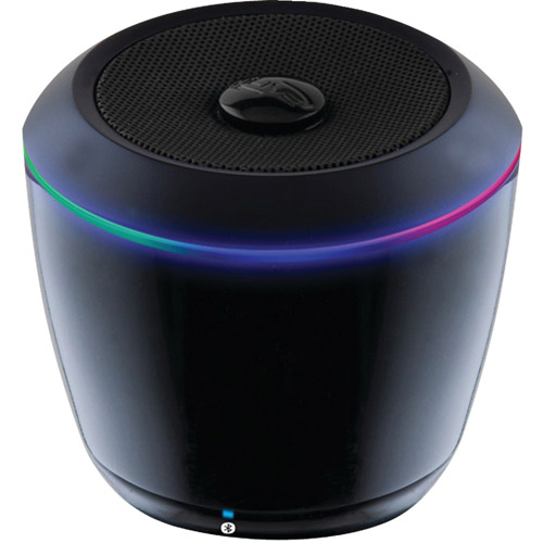 iLive Blue iSB14B Portable Bluetooth Speaker with LEDs