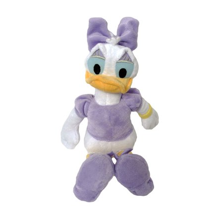 "Daisy Duck Plush Toy Doll 11"" Beanbag"