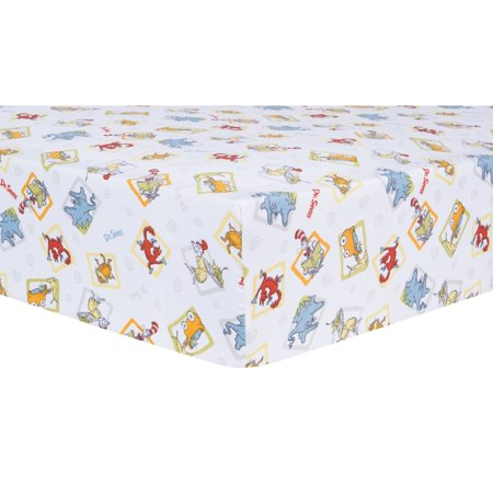 Dr. Seuss Friends 5 Piece Crib Bedding Set by Trend