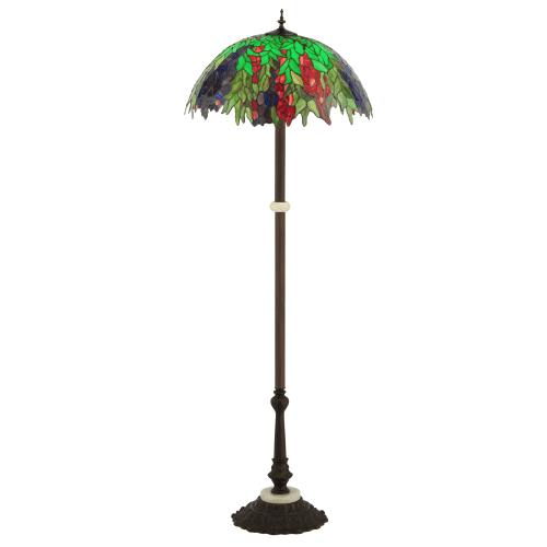 "Meyda Tiffany 122380 63"" H Honey Locust Floor Lamp by Meyda Tiffany"
