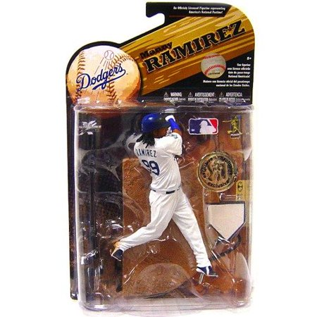 Mcfarlane Toys Mlb Sports Picks Series 25  2009 Wave 2  Exclusive Action Figure Manny Ramirez  Los Angeles Dodgers