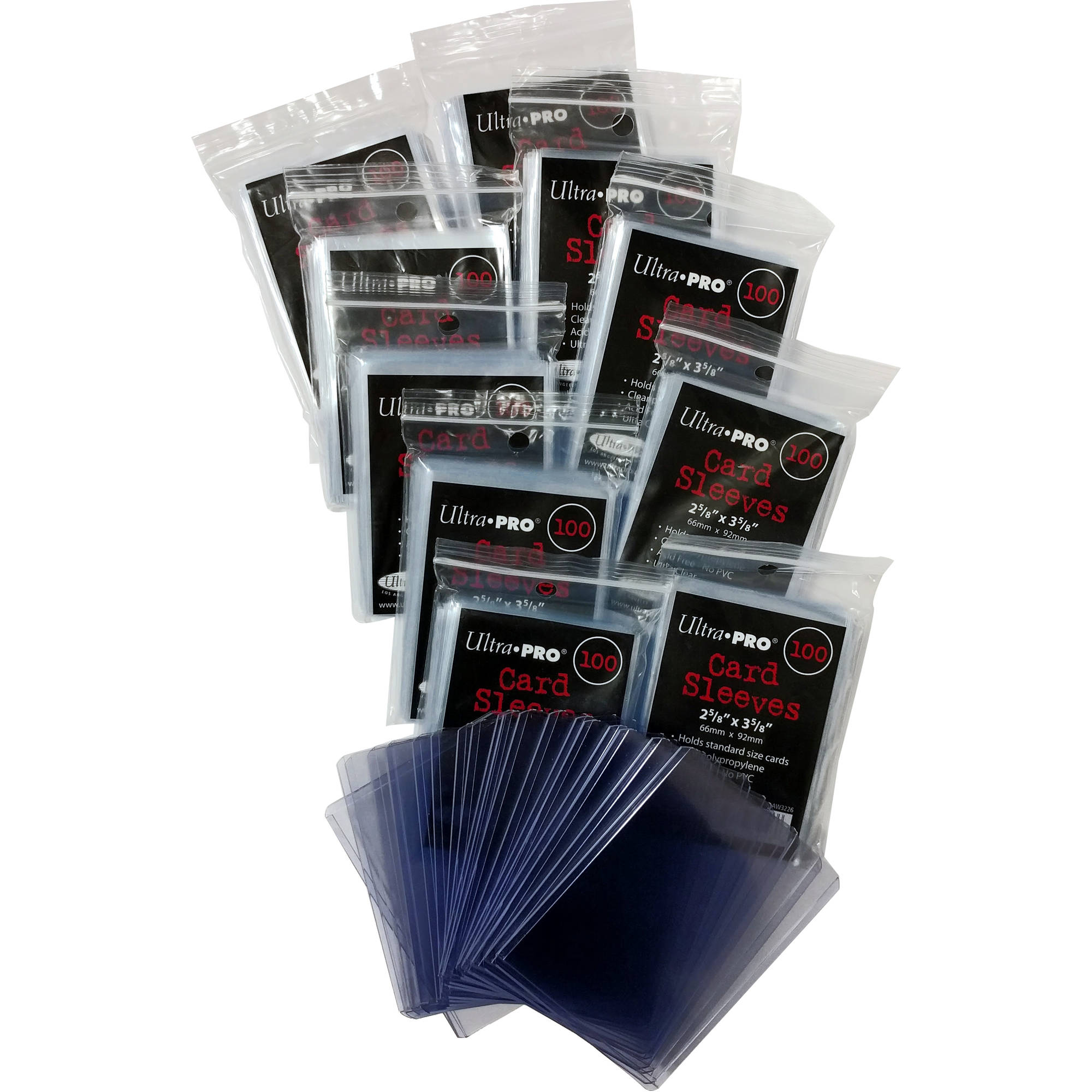 Card sleeves ultra pro 1k clear card sleeves 20 toploaders m4hsunfo