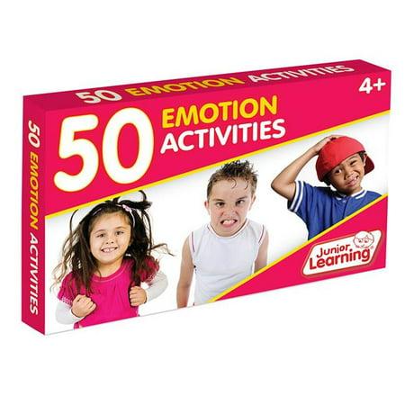 Junior Learning JRL357 50 Emotion Activity Cards