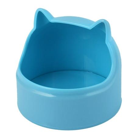 Plastic Ears For Sale (Pet Rabbit Guinea-Pig Dragon Cat Plastic Cat Ears Shaped Food Bowl Feeder)
