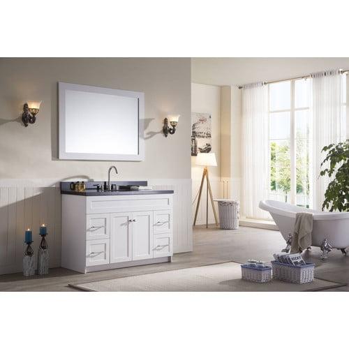 Ariel Bath Hamlet 49'' Single Bathroom Vanity Set with Mirror