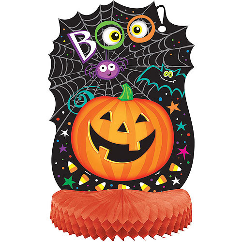 Pumpkin Pals Halloween Honeycomb Centerpiece