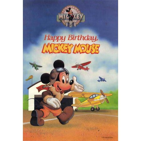 Happy Birthday, Mickey Mouse POSTER Movie Mini Promo (Mini Mouse Birthday)