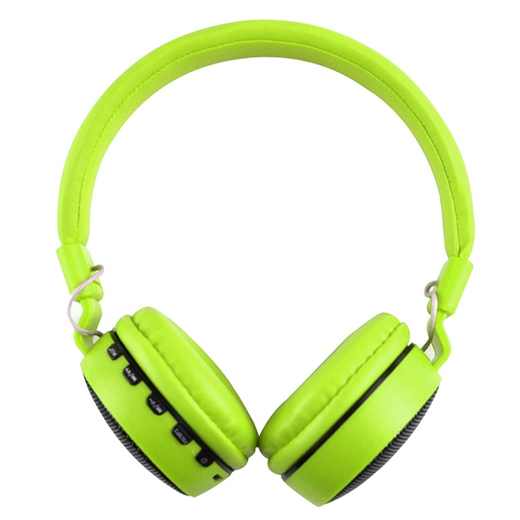 Wireless Bluetooth Kids Over-Ear LED Headphones Earphones