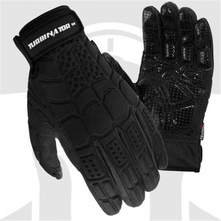 cestus 3061 l pro series polypropylene turbinator windproof one pair glove, black - (3061 Series)