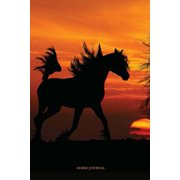 Horse Journal : 100 Page Lined/Ruled Notebook/Diary