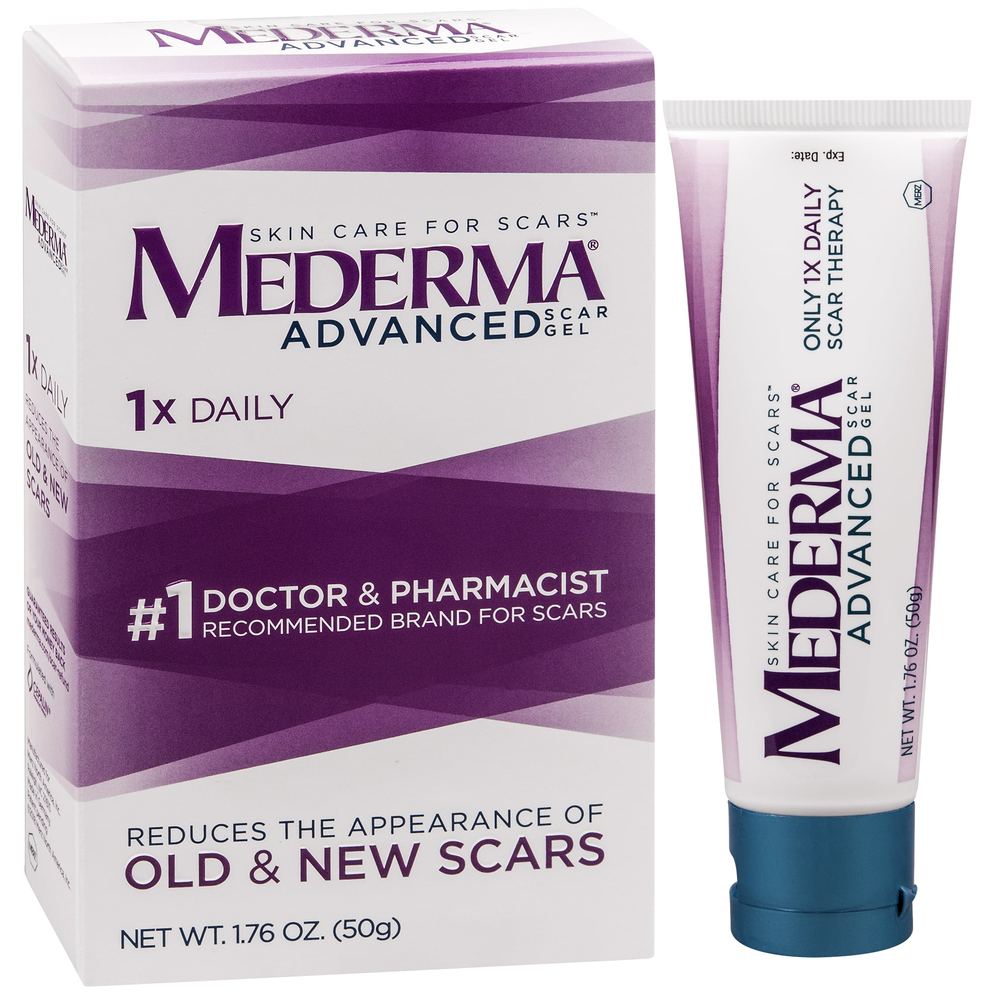 Mederma Soothing Formula Scar Treatment 0 70 Ounce Tube Walmart