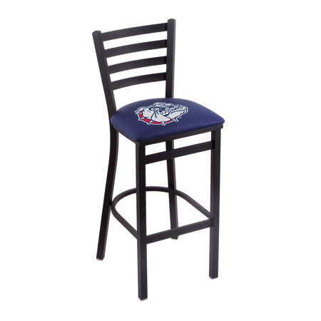 Logo Fabric Bar Stool - Gonzaga Bar Stool w/ Bulldogs Logo - 30