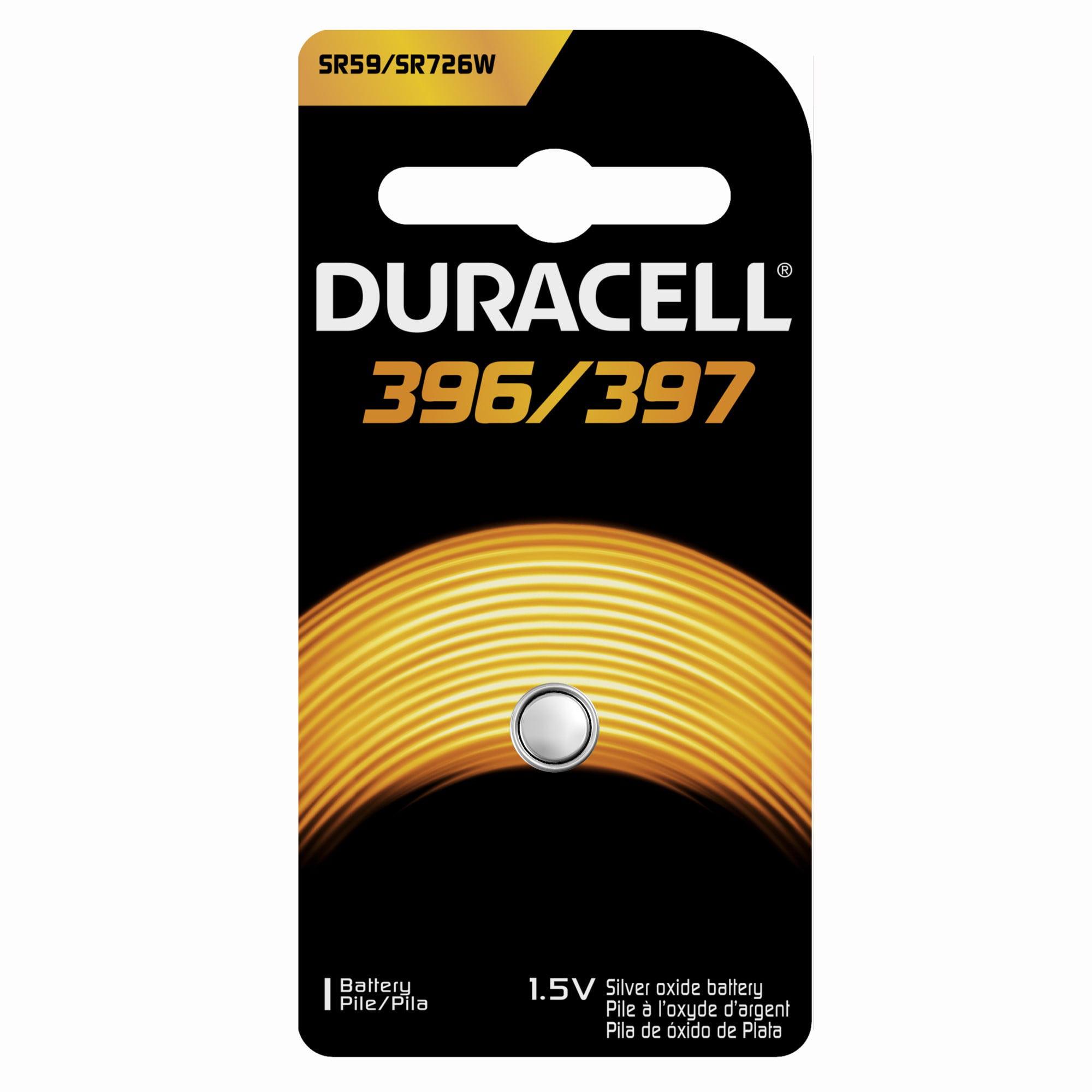 Duracell Silver Oxide Button 396/397