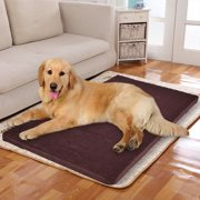 "New MTN-G 45"" x 27"" Large Memory Velet Foam Pet Bed Dog Cat Puppy Pad Mat Cushion w/ Cover"