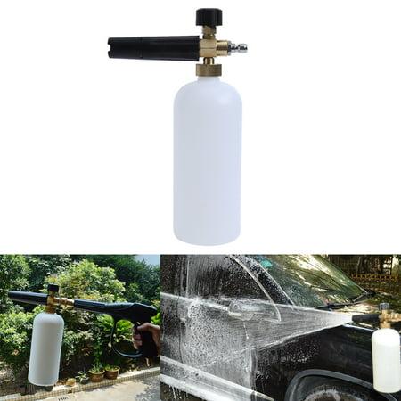 Foam Lance Snow Cannon Pressure Washer Gun Car Foamer Wash Soapsuds Spray Jet