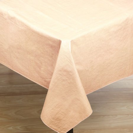 Vinyl Flannel Back Oblong Tablecloth 52