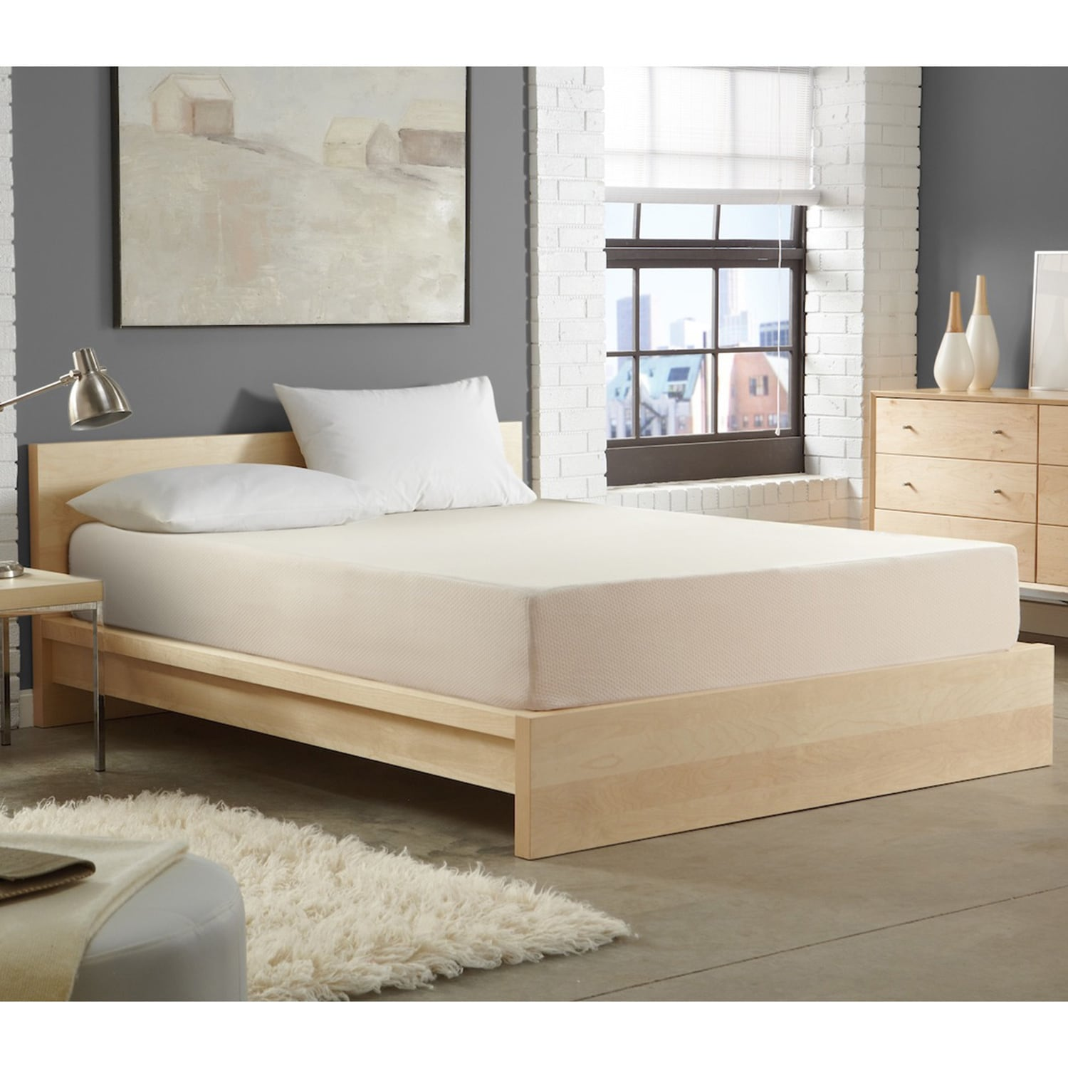 WHITE by Sarah Peyton Home Collection WHITE by Sarah Peyton 10-inch Convection Cooled Twin-size Memory Foam Mattress