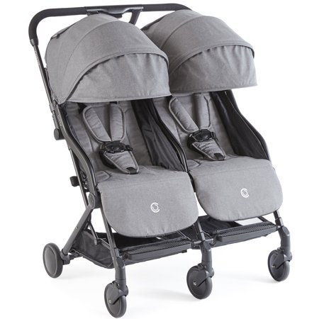 Contours Bitsy Double Side by Side Stroller Adapter Free Car Seat Comp
