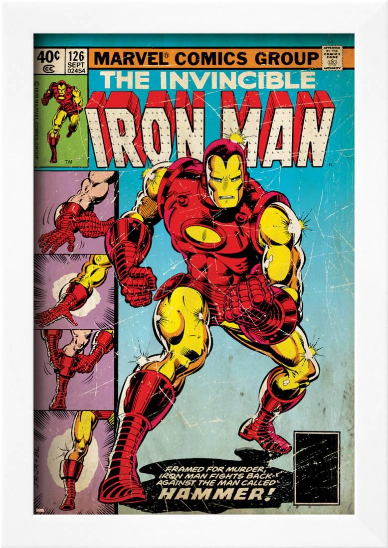 Marvel Comics Retro: The Invincible Iron Man Comic Book Cover No.126 ...