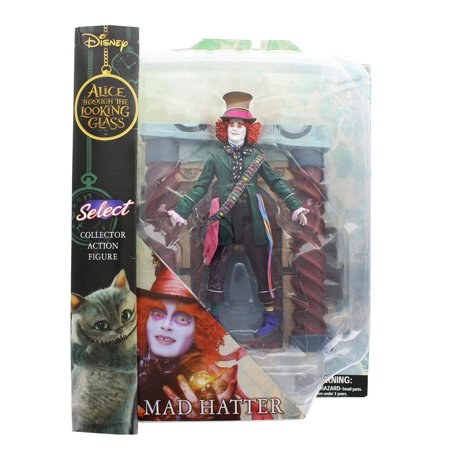 Alice Through the Looking Glass Mad Hatter Select 7