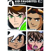 4 Kids Favorites: Cartoon Network Action Collection (DVD)